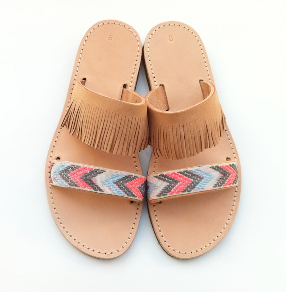 sandals chic Hippie sandals Sandals leather Boho Boho qpw1gg