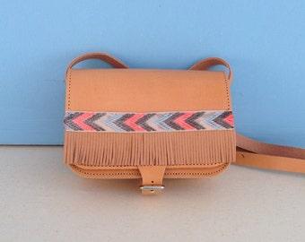 Cross Body Leather Bag, Boho Bag, Leather Bag