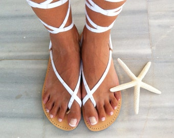 gladiator sandals, lace up sandals, handmade leather sandals