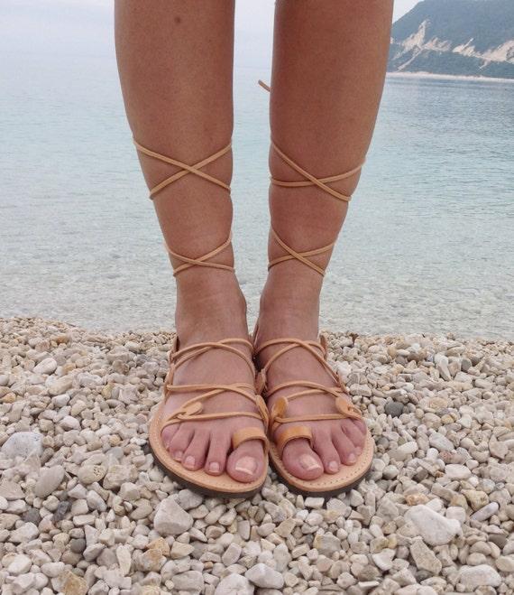 Gladiator GLADIATOR sandales sandales Tie gladiateur cuir en Up sandales sandales 6zqg8w8