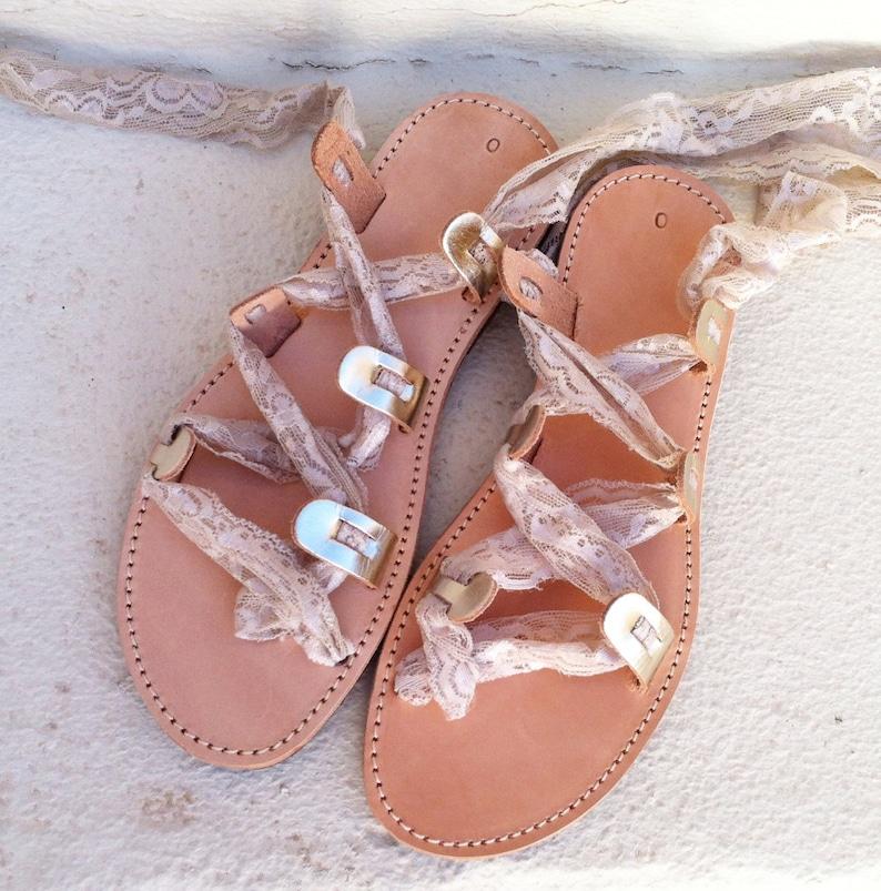 Handmade Gold Sandals wedding leather sandals Sandals, gold sandals gladiator sandals Greek Sandals