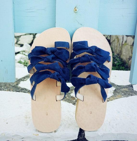 sandales en daim sandales en grecques sandales cuir bow Sandales sandales EwS1c6qXHH