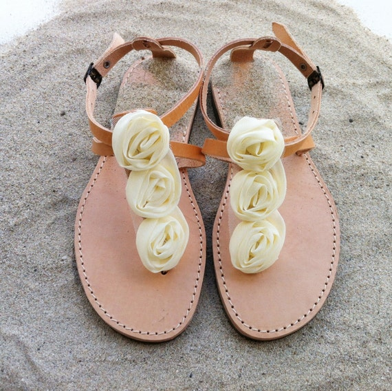 de en cuir sandales demoiselles fleur chaussures sandales d xPvHHwq7p