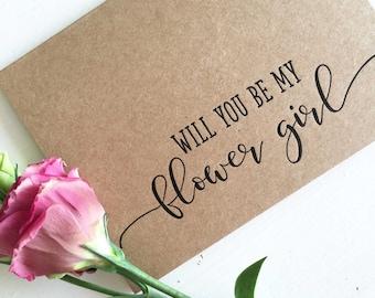 flower girl invite etsy