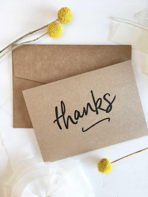 Rustic Thank You Cards Stationery Set Thank You Cards Thank Etsy