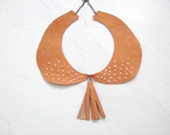 Autumnalia Collection-Peter Pan Collar orange