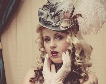 Jer Velvet victorian style ladies riding hat