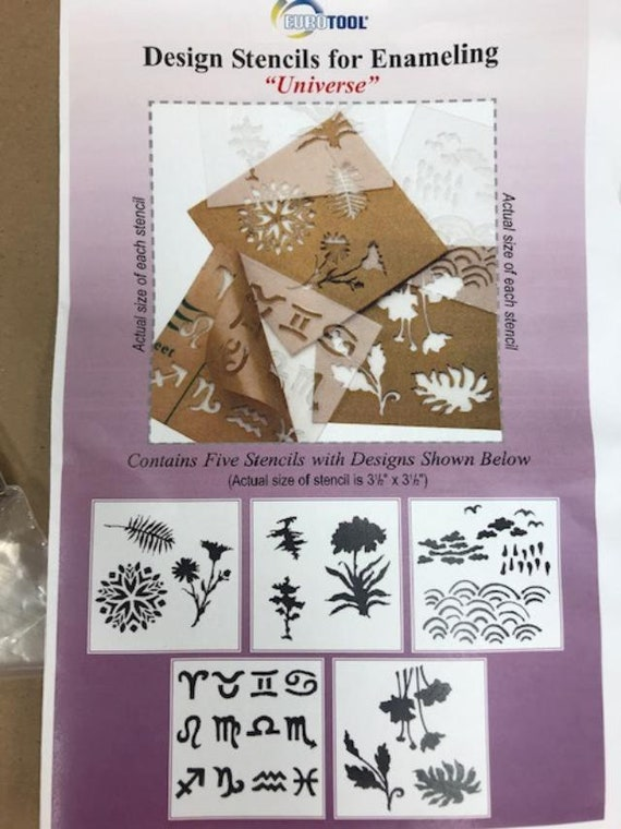 RefLections Design Stencils By Eurotool Great For Enameling