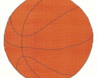 Basket Cross Stitch Pattern