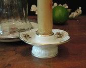 Vintage Candlestick Holder Moss Rose Rosenthal Germany Porcelain Candlestick Holder Candle holder