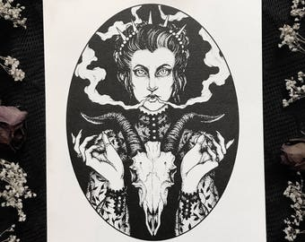 The Medium print