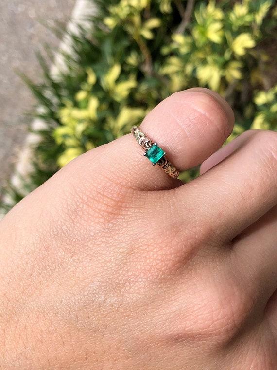 Black Hills Gold Ring, Emerald Black Hills Gold, … - image 1