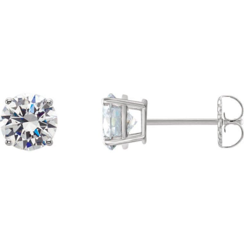 814794b2d2d69 1.10ct Natural Diamond Stud Earrings,Diamond Earrings,Solitaire Diamond  Earring,Solitaire Diamond studs,Screw Bck Diamond Earring,1ctDiamond