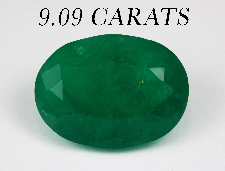 25.00 Cts Earth Mined Sapphire /& Emerald Gemstone Round Shape Bead Earrings