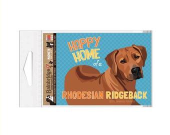 "Rhodesian Ridgeback - Magnet 3.56"" x 4.75"""