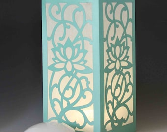 Lotus Laser cut Luminary Table Lamp Centerpiece - #27
