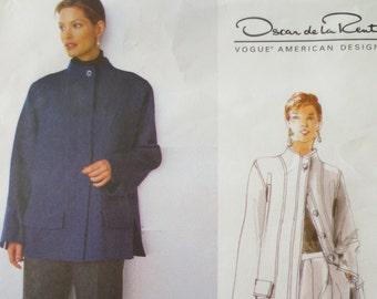Vogue 2188 Sewing Pattern, Oscar de la Renta, Designer Pattern, 1990s Suit Pattern, American Designer, Bust 30 and a Half to 32 and a Half