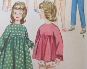 Vintage Butterick 3351 Sewing Pattern, Dolls' Wardrobe, Tammy Doll Clothes, 1960s Sewing Pattern, 12 Inch Doll Clothes, Suzie, Jan Terry