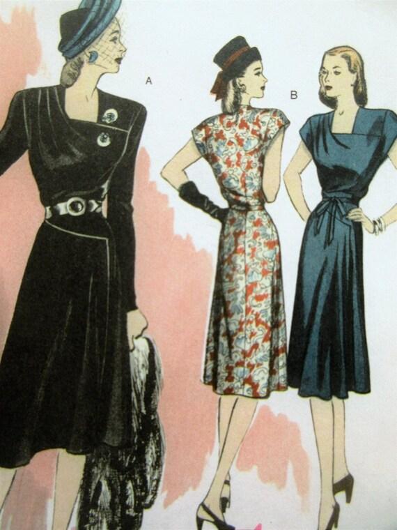 Butterick 5281 Schnittmuster 1940er Jahre Schnittmuster | Etsy