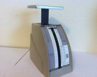 Vintage Postage Scale, Pelouze, Model P2, Postal Scale, 1988