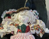 Soft Sculpture - Quilted Angel - Country Angel Christmas
