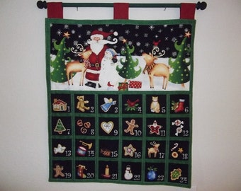 Christmas Advent Calendar - Santa and Friends