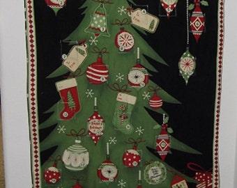 Christmas Advent Calendar - Decorated Christmas Tree
