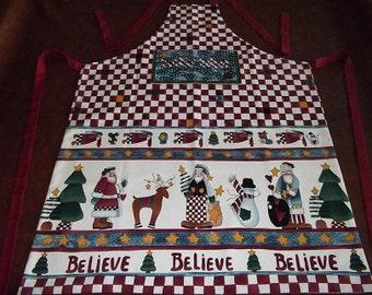 Christmas Apron - Santa's Helper