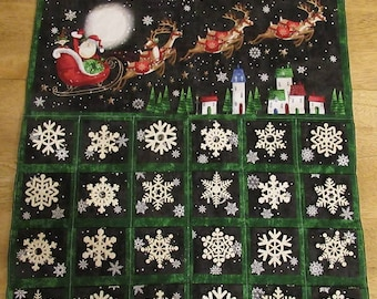 Christmas Advent Calendar - Snowflake a Day Countdown