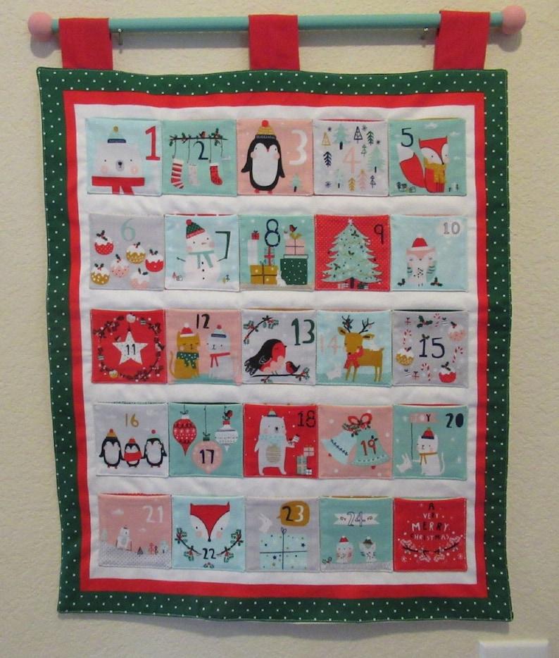 Days Until Christmas 2019.Christmas Advent Calendar A Very Merry Christmas New 2019