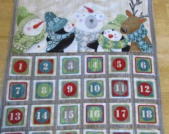 Christmas Advent Calendar - Frosty Friends