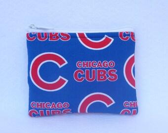 Chicago Cubs  Coin Bag // MLB //