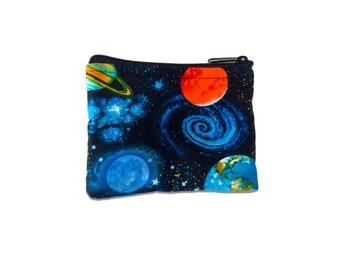 Outer Space Coin Bag