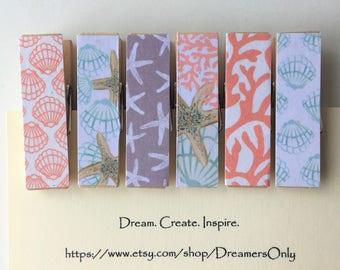 Decorative Clothespins - Coastal Living