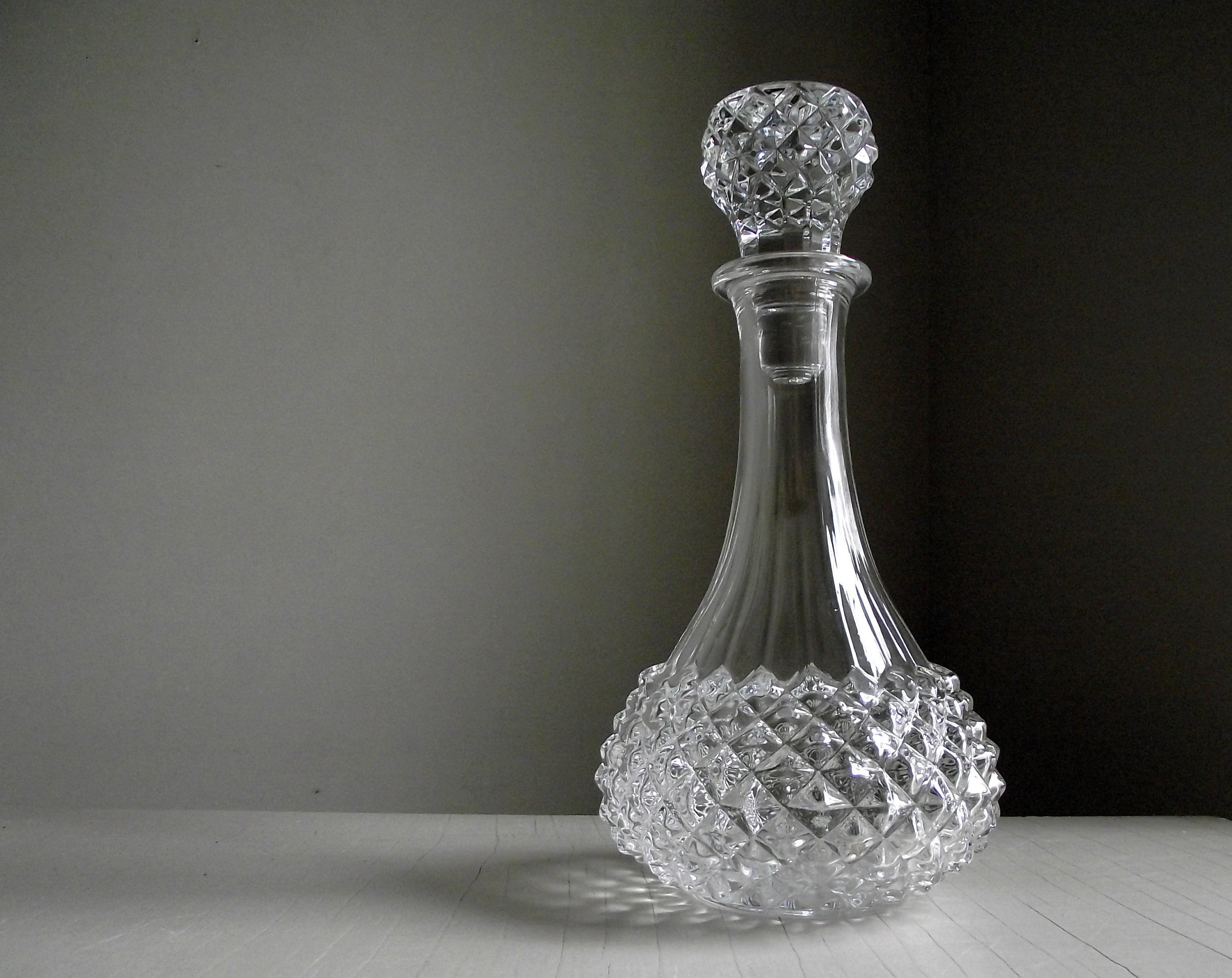 Cristal Darques France.Lead Crystal Decanter Stopper Cristal D Arques France Etsy