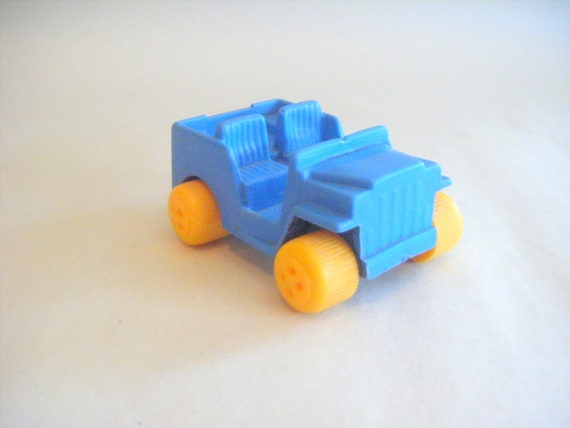 Vintage Jeep Viking Plast Number 110 Sweden Blue Toy Etsy