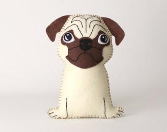 Beagle Sewing Pattern Dog Hand Sewing Pattern Sew A Felt Etsy
