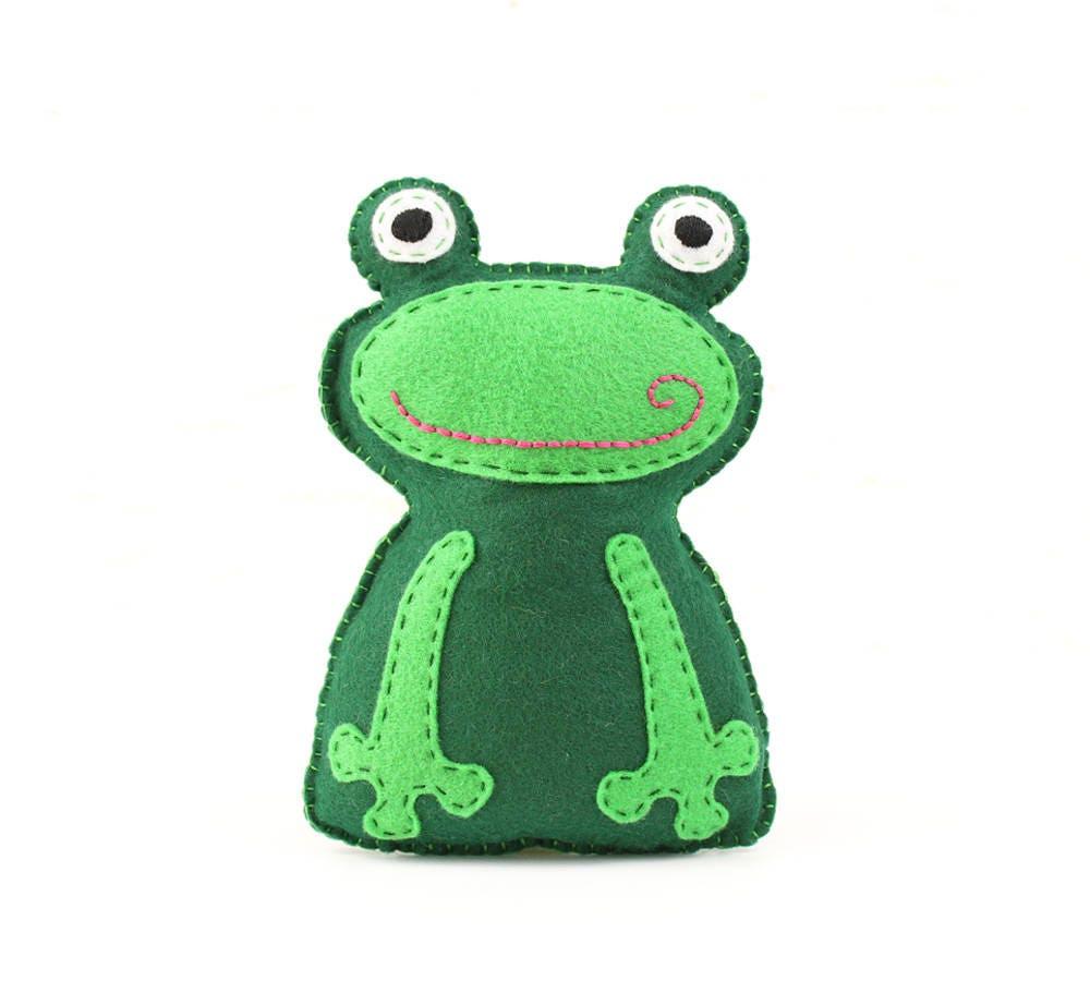 Frog Sewing Pattern Frog Stuffed Animal Hand Sewing Pattern