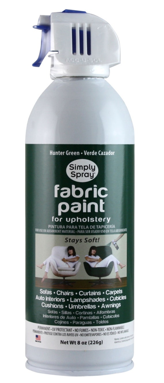 Simply Spray Upholstery Fabric Spray Paint Dries Soft Etsy