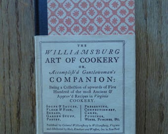 The Williamsburg Art of Cookery 1966 edition In Very Good Shape!