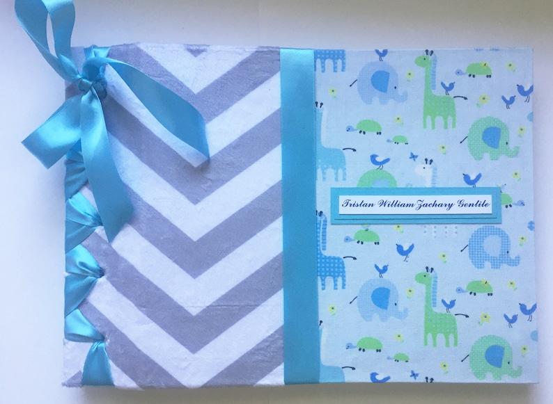 Baby Scrapbook Custom Made to Order Blank Scrapbook Album in image 0