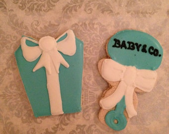 1 DZ  Baby Co Shower Sugar Cookies