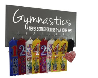 Gymnastics, Gymnastics gifts, gymnast gift, gifts for gymnast, Gymnastics birthday and medal, Never settle for less than your best