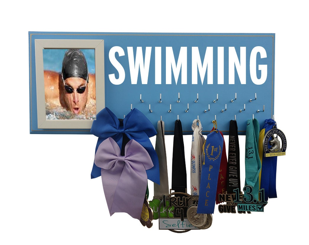 swimmer gifts, swimming, swimmer gift, swim, just keep swimming, swimmer,  ribbon, swimming ribbons, ribbon display, swim team, trophy