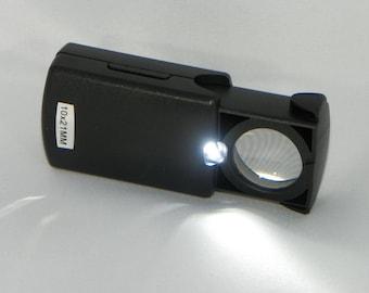 Jeweler's 10X Loupe with LED Light