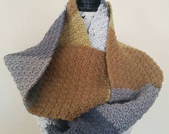 Golden Goose Pebble Stitch Cowl - Ready to Ship