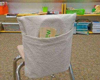 Teachers LOVE Me - Classroom Chair Book Pocket - DIY -Downloadable Instructions