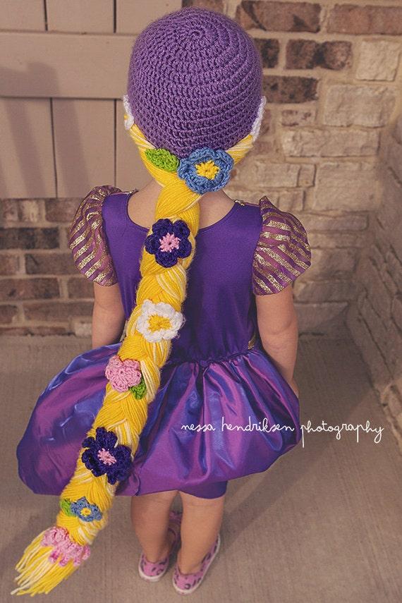 Rapunzel Hut häkeln Rapunzel Mütze Rapunzel Geflecht | Etsy