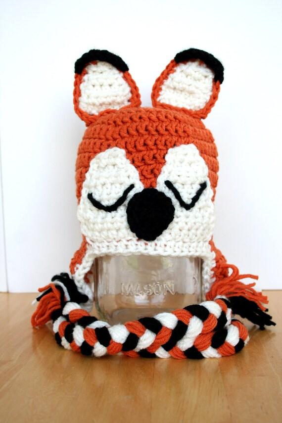 Gitter-Hut fuchshut häkeln stricken fuchshut Fuchs-Kostüm | Etsy