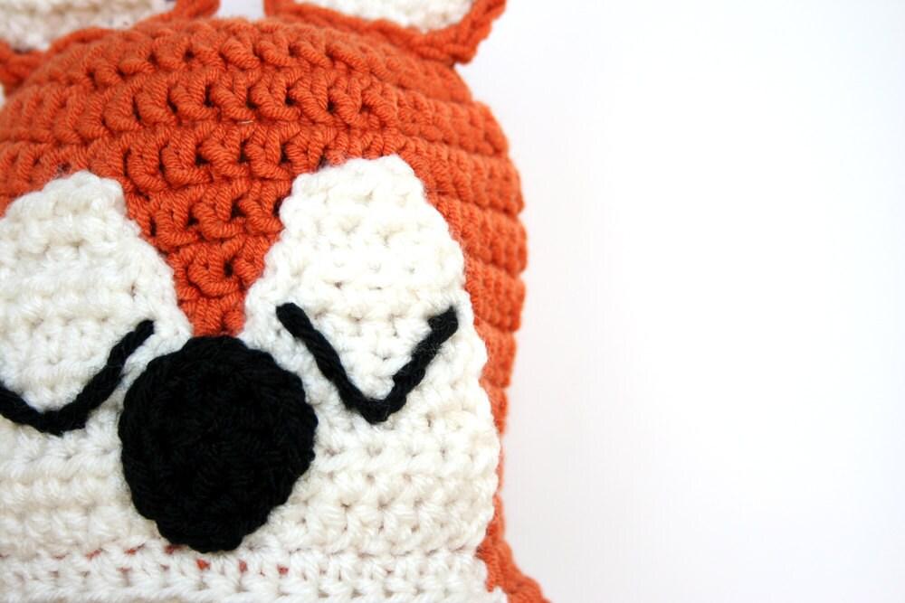 Gehäkelter fuchshut Mütze stricken Fuchs Gitter Hut Tier | Etsy